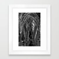 A Church Framed Art Print