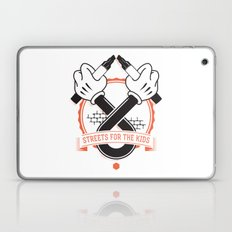 Streets For The Kids Laptop & iPad Skin