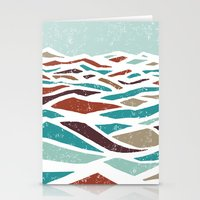 fire Stationery Cards featuring Sea Recollection by Efi Tolia