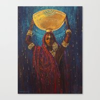 Divine Duty Canvas Print