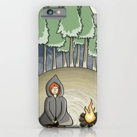 Campfire Girl iPhone 6 Slim Case