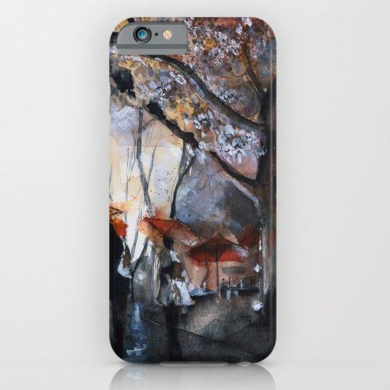 Autumn rain - watercolor iPhone & iPod Case