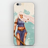 Rima The Jungle Girl iPhone & iPod Skin