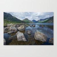 Wastwater English Lake District Canvas Print