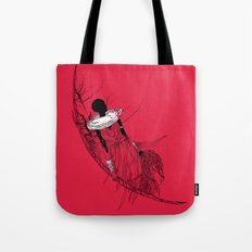 The Lioness Warrior Tote Bag