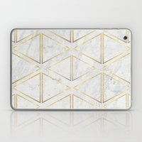 gOld rhombus Laptop & iPad Skin