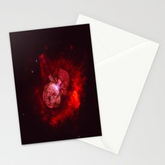 Red Star Division Stationery Cards