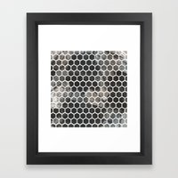 Graphic_Cells Paint Framed Art Print