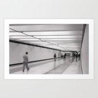 Concourse Art Print