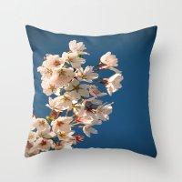 Awesome Blossom. Throw Pillow