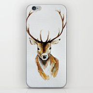 Buck - Watercolor iPhone & iPod Skin