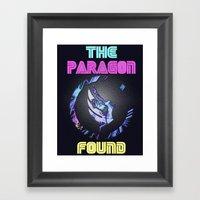 Paragon Mass Effect Framed Art Print