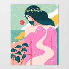 How To Befriend A Mounta… Canvas Print