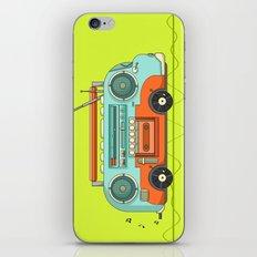 The Music Bus iPhone & iPod Skin