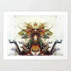 Deity Art Print