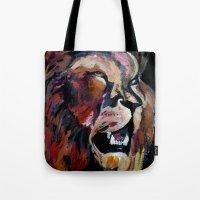 Friendly Lion Tote Bag