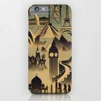 iPhone & iPod Case featuring Around the world by UvinArt