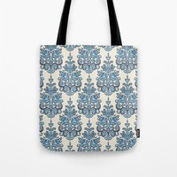 Akash Damask Ikat Tote Bag