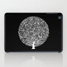 Black and White Tree iPad Case