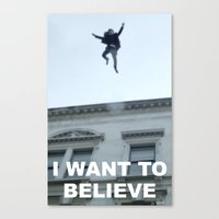 I Want To Believe In She… Canvas Print