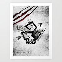Teen Wolf: Part Of The P… Art Print