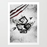 Teen Wolf: Part Of The P… Art Print
