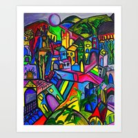 Dreamscapes Art Print