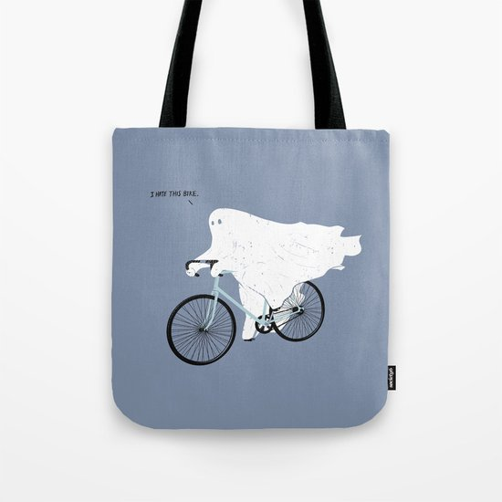 Negative Ghostrider. Tote Bag