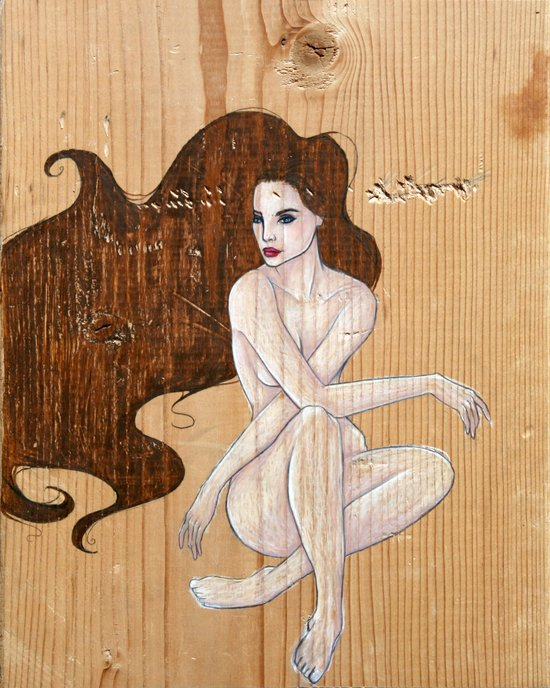 Seductress Art Print