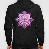 Purple, Blue Shapes And … Hoody