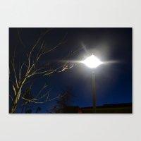 At Night Fall Canvas Print