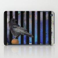 Crow Stripes iPad Case