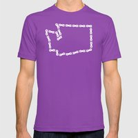 Ride Statewide - Washing… Mens Fitted Tee Ultraviolet SMALL