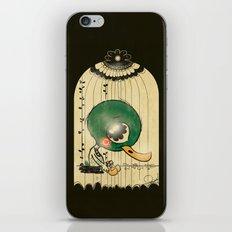 Chinese Idiom: Sitting Duck 插翅难飞  iPhone & iPod Skin