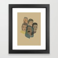 Arabian Nights Portraits Framed Art Print