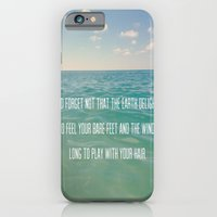iPhone & iPod Case featuring Oceanic Inspiration by Machiine