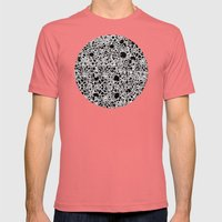 Bubbles 2 Mens Fitted Tee Pomegranate SMALL