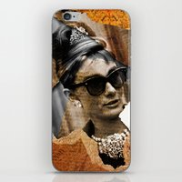 Audrey Hepburn - Ripped … iPhone & iPod Skin