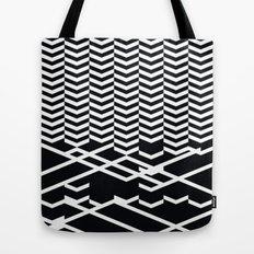 defragmentation Tote Bag