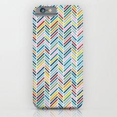 Herringbone Colour Slim Case iPhone 6s