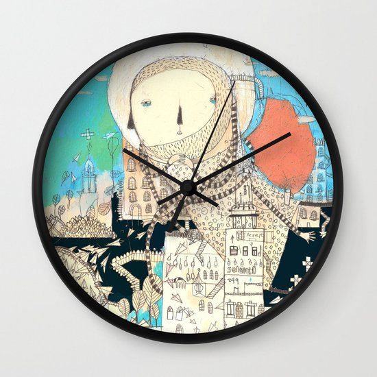 Logic will get you from A to B. Imagination will take you everywhere. Wall Clock
