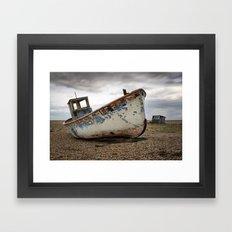 The Trawler, Dungeness, Kent Framed Art Print
