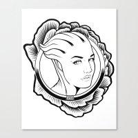Mass Effect. Liara T'son… Canvas Print