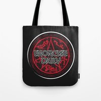 Exorcise Daily Tote Bag