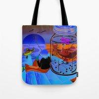 Fish Tales Tote Bag