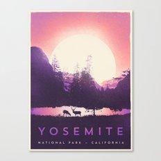 Yosemite — National Park Canvas Print