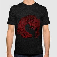 Son of the Dragon  Mens Fitted Tee Tri-Black SMALL