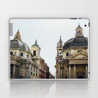 Piazza Del Popolo Rome Laptop & iPad Skin