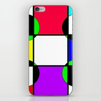 Block color  iPhone & iPod Skin