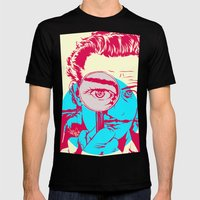 Dali   Mens Fitted Tee Black SMALL